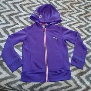 Toddler girl Puma zip up